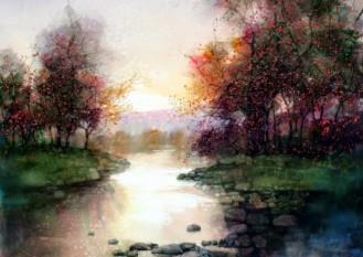 Water colour paintins - ZL Feng - Shangai Artist (4).forblog