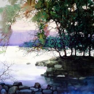 Water colour paintins - ZL Feng - Shangai Artist (5).forblog