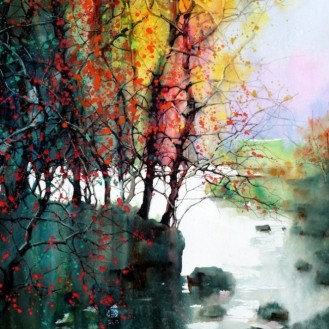 Water colour paintins - ZL Feng - Shangai Artist (7).forblog