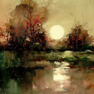Water colour paintins - ZL Feng - Shangai Artist (9).forblog