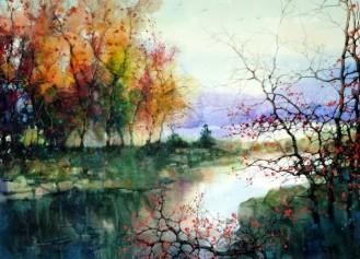 Water colour paintins - ZL Feng - Shangai Artist.forblog