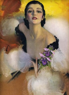 1930's print by Rolf Armstrong
