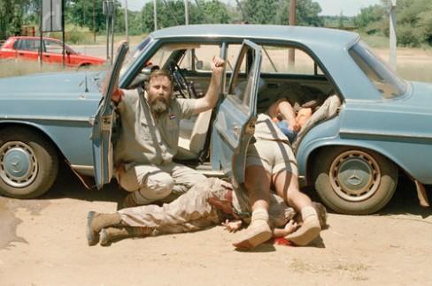 1994-Alwyn Wolfaardt, membro del AWB, implora per la sua vita dopo un infruttuoso colpo di stato negli ultimi giorni di Apartheid. E 'stato ucciso poco dopo.