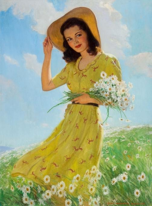 Rolf Armstrong 1889-1960 - American Pin-up painter - Tutt'Art@ (16)