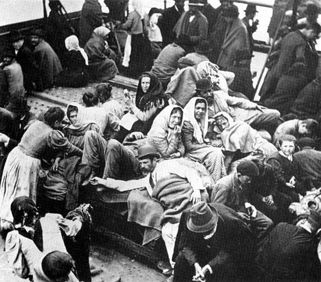 Storia - Ellis Island e la quarantena degli italiani (2/5)