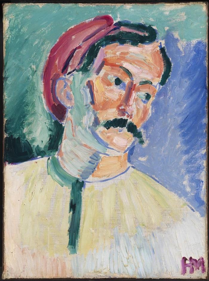 André Derain by Henri Matisse  1905 - Tutt'Art@