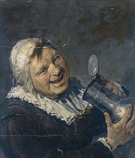 Donna-che-beve-il-primo-falso-di-Van-Meegeren-ca.-1935