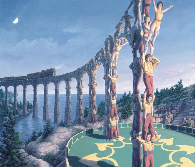 Robert Gonsalves, quando il surrealismo si fonde con la magia. (2/6)