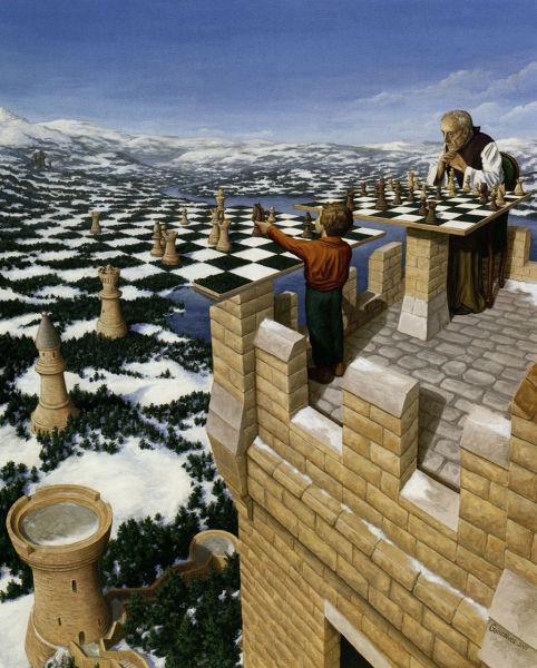 Robert Gonsalves, quando il surrealismo si fonde con la magia. (4/6)
