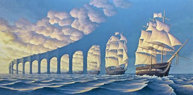 Robert Gonsalves, quando il surrealismo si fonde con la magia. (1/6)