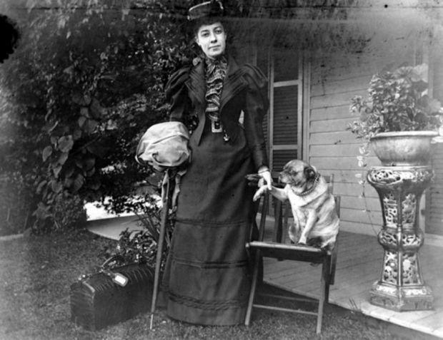 Alice Austen,  la prima fotoreporter donna. (1/6)