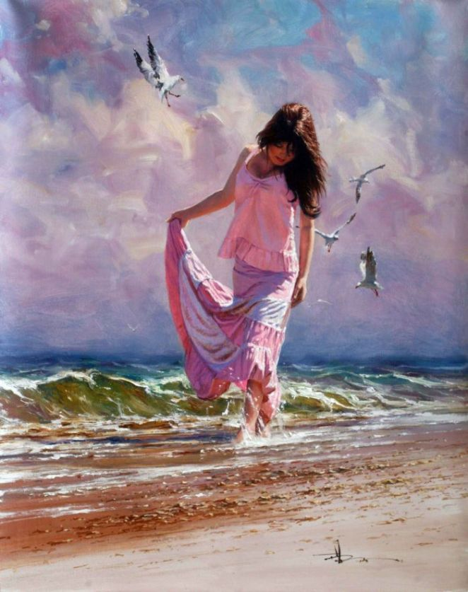 Robert Hagan 1947 - Australian Impressionist painter - Tutt'Art@ (10)