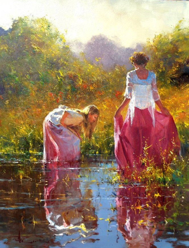 Robert Hagan 1947 - Australian Impressionist painter - Tutt'Art@ (14)