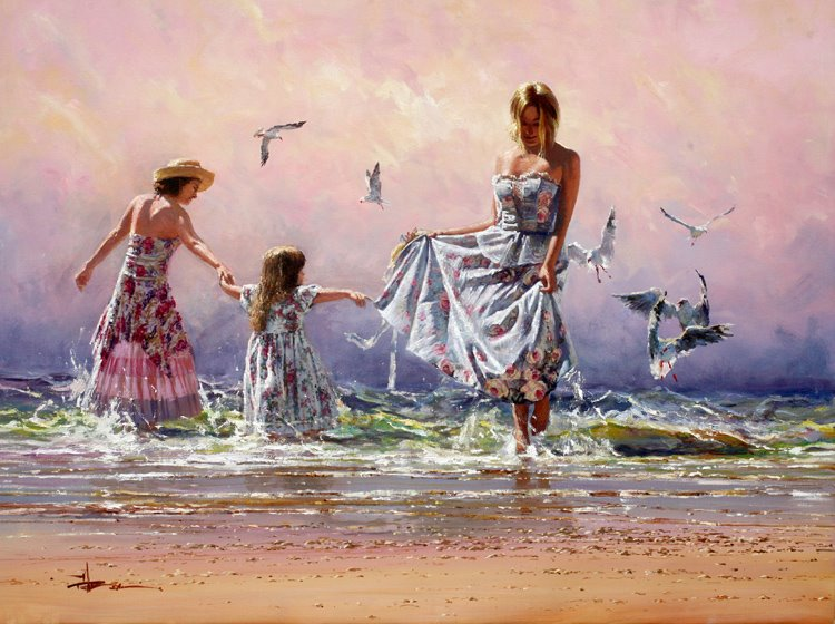 Robert Hagan 1947 - Australian Impressionist painter - Tutt'Art@ (15)