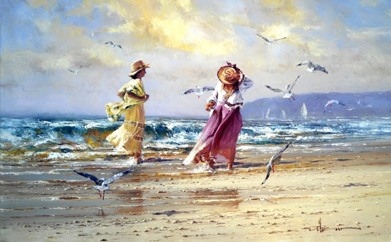 Robert Hagan 1947 - Australian Impressionist painter - Tutt'Art@ (27)