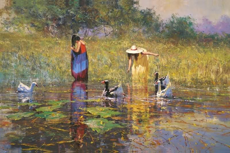 Robert Hagan 1947 - Australian Impressionist painter - Tutt'Art@ (29)