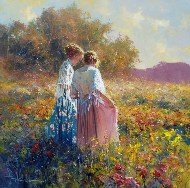Robert Hagan 1947 - Australian Impressionist painter - Tutt'Art@ (33)