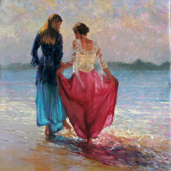 Robert Hagan 1947 - Australian Impressionist painter - Tutt'Art@ (4)