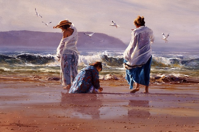 Robert Hagan 1947 - Australian Impressionist painter - Tutt'Art@ (5)