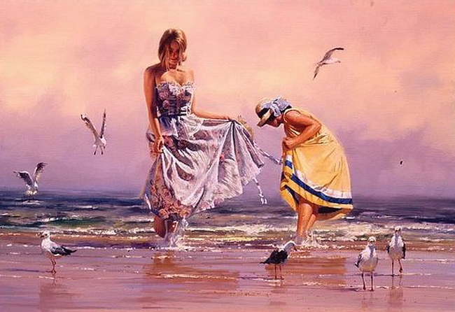 Robert Hagan 1947 - Australian Impressionist painter - Tutt'Art@ (6)