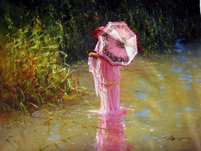 Robert Hagan 1947 - Australian Impressionist painter - Tutt'Art@ (7)