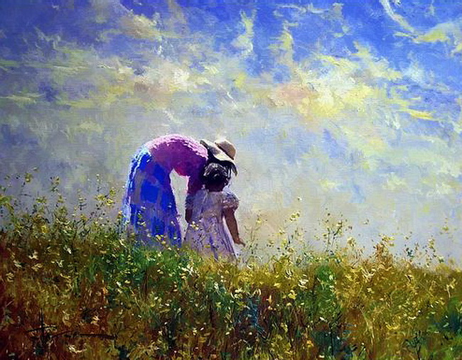 Robert Hagan 1947 - Australian Impressionist painter - Tutt'Art@ (8)