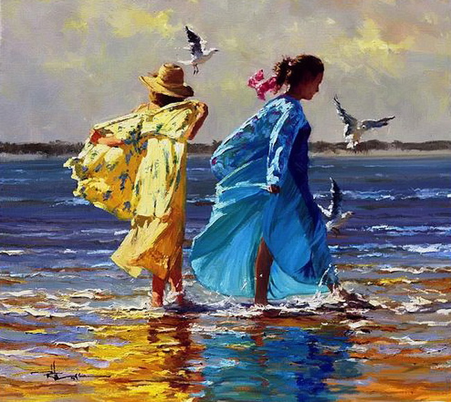 Robert Hagan 1947 - Australian Impressionist painter - Tutt'Art@ (9)