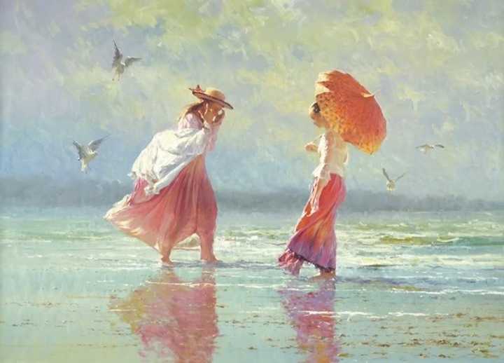 Robert Hagan 1947 - Australian Impressionist painter - Tutt'Art@
