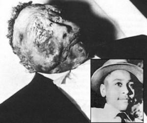 Emmett Till - Il ragazzo brutalmente assassinato per motivi razziali.